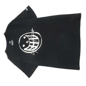 21SS ヨウジヤマモトプールオム YOHJI YAMAMOTO POUR HOMME × ニューエラ NEW ERA S/S SMILE LOGO PRINT COTTON TEE Tシャツ 半袖 XL