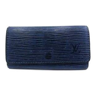 ルイヴィトン LOUIS VUITTON エピ ミュルティ クレ4 キーケース 三つ折り トレドブルー 青 ブルー M63825 /YI33 ■OH ●D メンズ