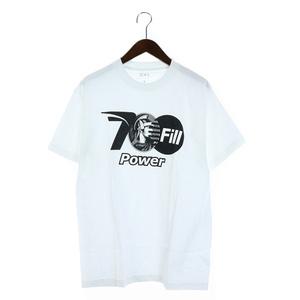 セブンハンドレッドフィル 700Fill 1LDK取扱 Tシャツ カットソー プリント クルーネック 半袖 M 白 ホワイト /SR8 メンズ