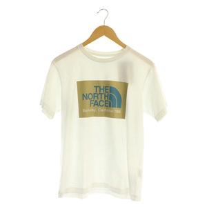 未使用品 ザノースフェイス THE NORTH FACE Halfdome California Logo Tee Tシャツ 半袖 プリント M 白 ホワイト NT32008 /MY ■OS メンズ