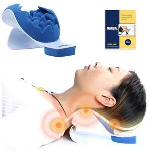 首と肩のリラクゼーション枕、米国の古典的な製品、効果的に首の痛みを改善して