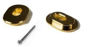 ブリッジ TOWNER Hinge Plate Adaptor 1, Gold [送料170円から 同梱可]