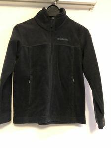 Columbia コロンビア フリースジャケット フリース キッズS 130㎝くらい 黒 ブラック アウトドア キャンプ 防寒 秋冬