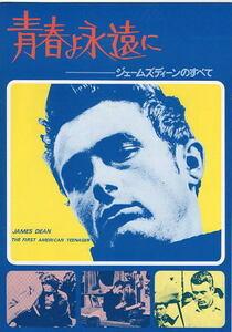 『ジェームズ・ディーンのすべて/青春よ永遠に』映画パンフレット・A4