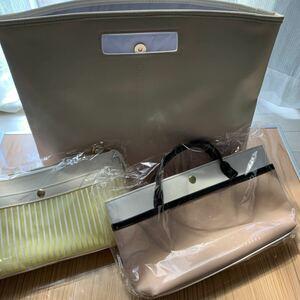 バッグ3点セット ショルダーバッグ トートバッグ 大判バッグ バッグインバッグ 今だけお値引き価格に変更します