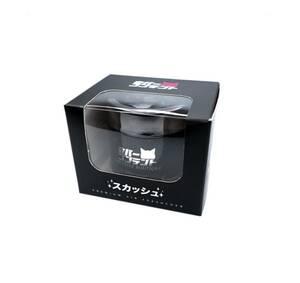 【正規代理店】ネバーコンテント エアフレッシュナー スカッシュ 1個 芳香剤 置き型 USDM JDM カタカナ 日本語 ロゴ ネバコン