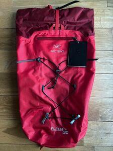 【国内正規 新品】ARC'TERYX Alpha FL 30 Backpack Cardinal Regular アークテリクス アルファFLバックパック 18678 レッド赤 リュック