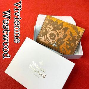 【Vivienne Westwood】未使用品 ヴィヴィアン パスケース 箱付き カードケース 名刺入れ