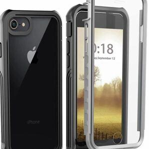 【軍用MIL規格!★iPhone本来の美しさと高級感を損ねない♪】iPhone SE ケース 第2世代(2020)/6s/7/8 ワイヤレス充電対応 衝撃吸収
