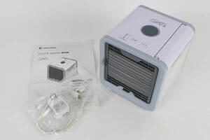 パーソナルクーラー冷風扇 ここひえ 19013-J ホワイト 小型クーラー 卓上冷風機 家電 ヘルスケア インテリア ショップジャパン 2104-448