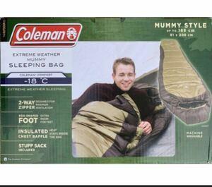Coleman コールマン 寝袋 ノースリム マミー型 スリーピングバッグ