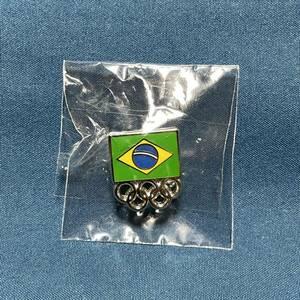 東京オリンピック ピンズ ブラジル ピンバッジ ピンバッヂ ピンバッチ 記念硬貨 コイン 非売品 東京五輪 Tokyo2020 パラリンピック 国旗