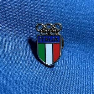 東京オリンピック ピンズ イタリア ピンバッジ ピンバッヂ ピンバッチ 記念硬貨 コイン 非売品 東京五輪 Tokyo2020 パラリンピック 国旗