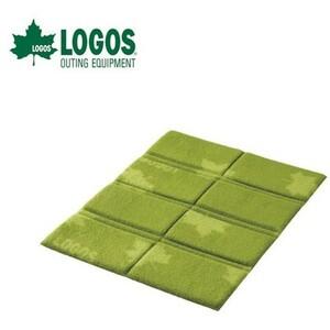 LOGOS レジャーシート レジャーマット 折り畳み座布団 2個セット