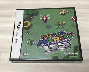 ニンテンドーDS スーパーマリオ64DS 新品未開封品
