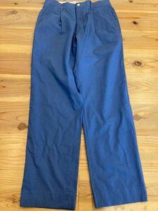 パーリーゲイツ PEARLYGATES チェック ゴルフパンツ 紺色 ネイビー 3サイズ GOLF ゴルフウェア 日本製 スラックス