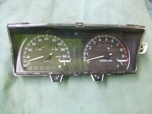 三菱 ギャラン VR4 スピード メーター E39A E33A E34A ターボ 5速 142589km GALANT