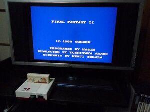 ファミコン カセット ソフト ファイナルファンタジー2 final fantasy II ファミリーコンピューター family computer 中古