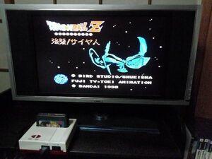 ファミコン カセット ソフト ファミコン ドラゴンボールZ 強襲サイヤ人 ファミリーコンピューター family computer 中古