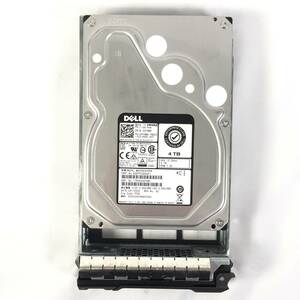 K381764 DELL 4TB SAS 12Gbps 7.2K HDD 3.5 -inch 1 point [ used operation goods ]......