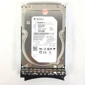 K37981 IBM 4TB SAS 7.2K 3.5 -inch HDD 1 point [ used operation goods ]......