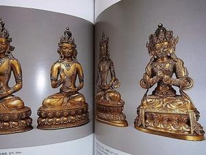 チベット金銅仏 曼荼羅 等 掲載 洋書 図録「Art of Tibet Hwajeong Museum」韓国/英文 タンカ 仏画チベット仏教美術 鍍金仏 仏像 仏塔 仏典