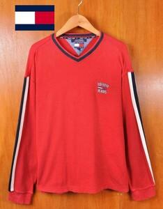 ビッグサイズ ヴィンテージ 90年代 TOMMY JEANS トミージーンズ TOMMY HILFIGER トミーヒルフィガー 長袖Tシャツ ロンT メンズXL相当(15571