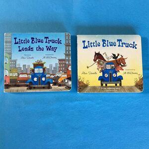 英語絵本 Little Blue Truck シリーズ ボードブック 2冊セット