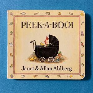 英語絵本 PEEK-A-BOO! しかけ絵本 ボードブック