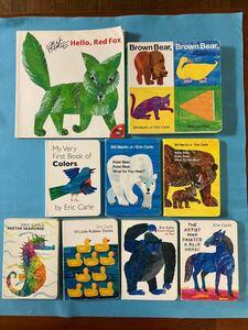 英語絵本 エリックカール ボードブック 9冊セット
