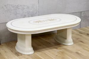 GMEK422B○ Saitarelli Mobili / サルタレッリモビリ センターテーブル リビングテーブル 姫家具 ロココ様式 展示品