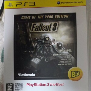 PS3 Fallout 3 [Game of the Year Edition the Best]フォールアウト3 送料無料