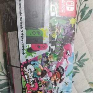 Nintendo Switch 本体 スプラトゥーン2セット ソフト 同梱版 ニンテンドースイッチ スイッチ 本体 未対策機