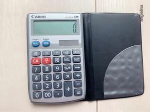CANON LS-12TU II キヤノン 電卓 小型