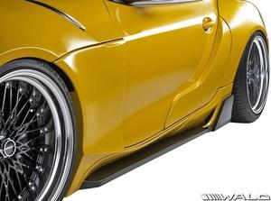 【M's】GRスープラ RZ/SZ-R/SZ 前期 (R.01.05-) WALD ワイドバージョン サイドステップ 左右 // FRP 未塗装 ヴァルド エアロ パーツ 外装