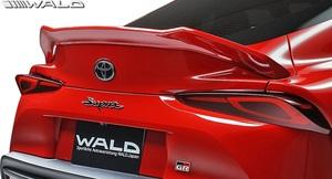 【M's】GRスープラ RZ/SZ-R/SZ 前期 (R.01.05-) WALD SPORTS LINE トランクスポイラー // ヴァルド FRP エアロ 外装 トランクウイング