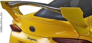 【M's】トヨタ GR スープラ RZ/SZ-R/SZ 前期 (R.01.05-) WALD トランクスポイラー + リアウイング / ヴァルド エアロ パーツ カスタム