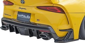 【M's】TOYOTA GRスープラ RZ/SZ-R/SZ 前期 (R.01.05-) WALD マフラーカッター (PILED160x2) ヴァルド バルド エアロ用 パーツ カスタム