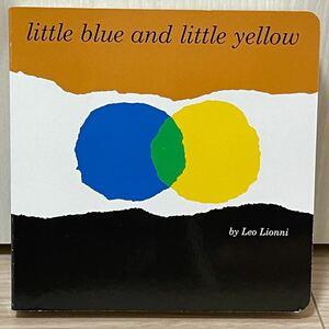 セール 新品英語絵本 little blue and little yellow