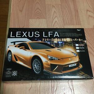 ラジコンカー LEXUS LFA カラー:ブラック