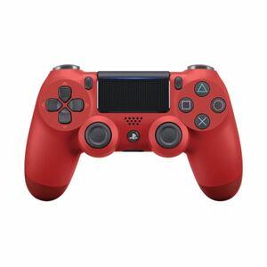【純正】 PS4 ワイヤレス コントローラー デュアルショック4  マグマレッド