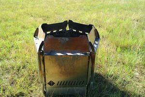 TLUD LANDMARK ランドマーク 焚き火プレート 収納ケース付き wood&burn 焚火台 2次燃焼