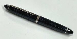 新品同様 ルイヴィトン ダミエ 万年筆 イニシャル入り ペン先18K グラントゥール ブラック 黒 ペン N79007 LV LOUIS VUITTON ヴィトン