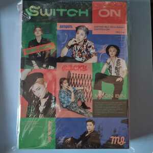 韓国盤 CD☆ASTRO SWITCH ON 8th Mini Album ON ver.☆韓流 チャ・ウヌ ムンビン MJ ジンジン ラキ ユンサナ 写真集 アルバム アストロ