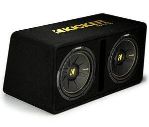 * USA Audio *  новая модель  ...  автомобиль Kicker CompC серия 30cm двойной  Оригинал BOX 44DCWC122, Max.1200W  *  гарантия  *  Налог включен