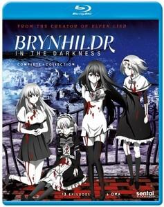 【送料込】極黒のブリュンヒルデ 全14話 (北米版 ブルーレイ) Brynhildr in the Darkness blu-ray BD