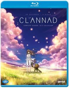 【送料込】クラナド 全49話 [ 1期 + 2期 ] (北米版 ブルーレイ) Clannad Season 1&2 blu-ray BD