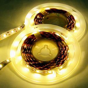 LED ライト テープ 5V 電球色 / 8メートル【4m×2本 USBケーブル装着済】 切断可 両面テープ付 ★匿名配送・無料