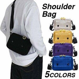 ショルダーバッグ 多機能 軽量 ショルダーバッグ メンズ サコッシュ 無地 柄 メッセンジャーバッグ 斜めがけ ボディバッグ