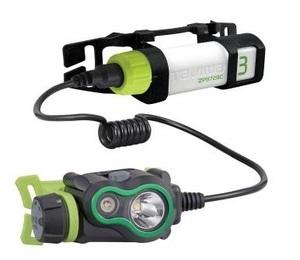タジマ ペタLEDヘッドライトU351セット LE-U351-SP 充電池付 大径-2灯-スポット TJMデザイン TAJIMA 265234